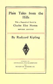 Cover of: Plain tales from the hills. by Rudyard Kipling