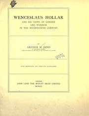 Cover of: Wenceslaus Hollar and his views of London and Windsor in the seventeenth century