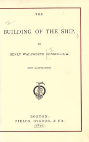 Cover of: The building of the ship