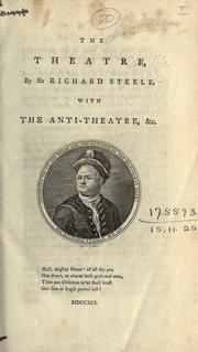 The theatre by Steele, Richard Sir