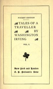 Cover of: Tales of a traveller