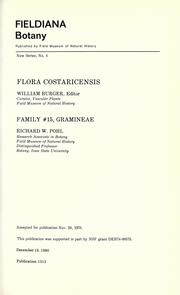 Cover of: Family #15, Gramineae