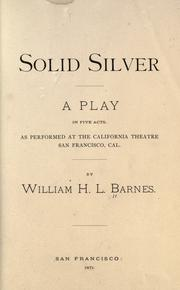 Cover of: Solid silver