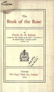 Cover of: The book of the rose