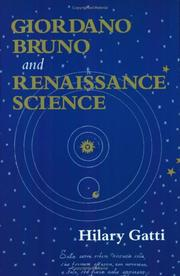 Cover of: Giordano Bruno and Renaissance Science | Hilary Gatti