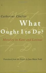 Cover of: What Ought I to Do?