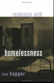 Cover of: Reckoning With Homelessness (The Anthropology of Contemporary Issues) | Kim Hopper