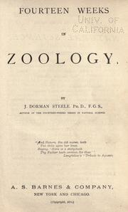 Cover of: Fourteen weeks in zoology