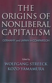 Cover of: The Origins Of Nonliberal Capitalism |
