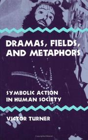 Cover of: Dramas, Fields, and Metaphors