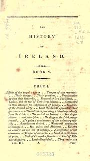 Cover of: The history of Ireland from the invasion of Henry II