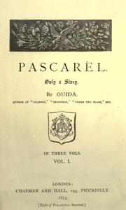 Cover of: Pascarel
