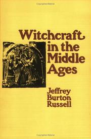 Cover of: Witchcraft in the Middle Ages