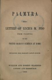 Cover of: Palmyra