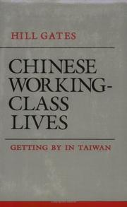 Cover of: Chinese working-class lives | Hill Gates
