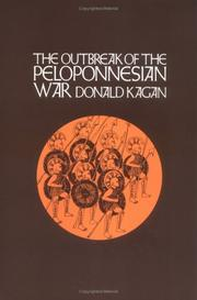 Cover of: The Outbreak of the Peloponnesian War