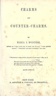 Cover of: Charms and counter-charms