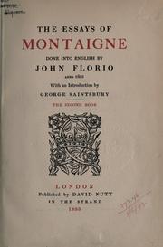 best essay by montaigne