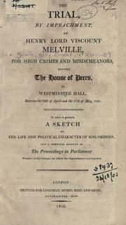 Cover of: The trial