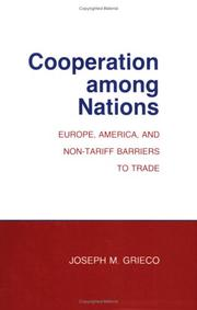 Cooperation among nations by Joseph M. Grieco