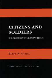 Citizens and soldiers by Eliot A. Cohen