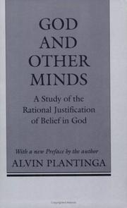 Cover of: God and other minds
