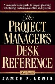 Cover of: The Project Manager