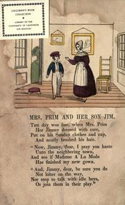 Cover of: Mrs. Prim and her son Jim |
