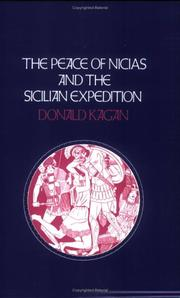 Cover of: The Peace of Nicias and the Sicilian Expedition