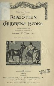 Cover of: Pages and Pictures from Forgotten Children's Books