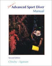 Cover of: Jeppesen's advanced sport diver manual
