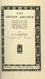 Cover of: The divine archer