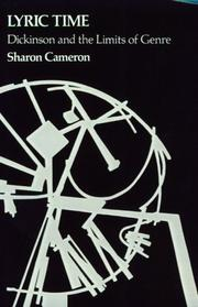Cover of: Lyric Time | Sharon Cameron