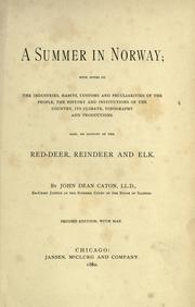 Cover of: A summer in Norway