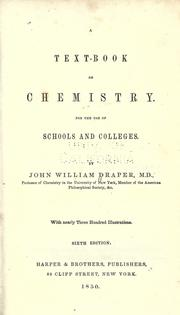 Cover of: A text-book on chemistry: For the use of schools and colleges.