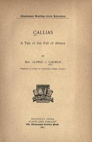 Cover of: Callias: a tale of the fall of Athens