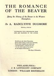 Cover of: The romance of the beaver by