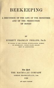 Beekeeping by Everett Franklin Phillips