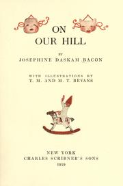 Cover of: On our hill