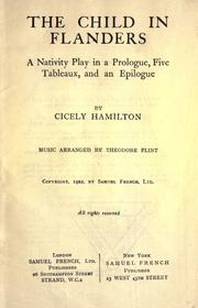 Cover of: The child in Flanders | Cicely Mary Hamilton