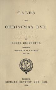Cover of: Tales for Christmas Eve