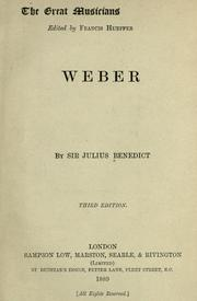 Cover of: Weber