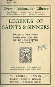 Cover of: Legends of saints & sinners