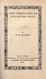 Cover of: The dwellers in Five-sisters court