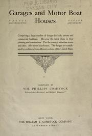 Garages and motor boat houses by William Phillips Comstock