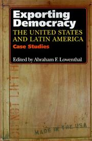 Cover of: Exporting Democracy | Abraham F. Lowenthal