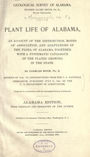 Cover of: Plant life of Alabama