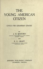 Cover of: The young American citizen