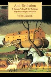 Cover of: Anti-evolution | Tom McIver