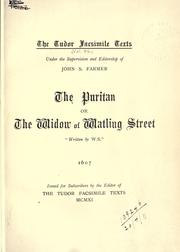 Cover of: The Puritan |